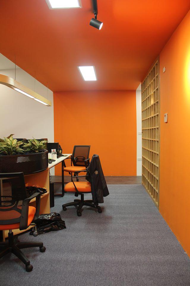 quá trình hoàn thiện thi công văn phòng