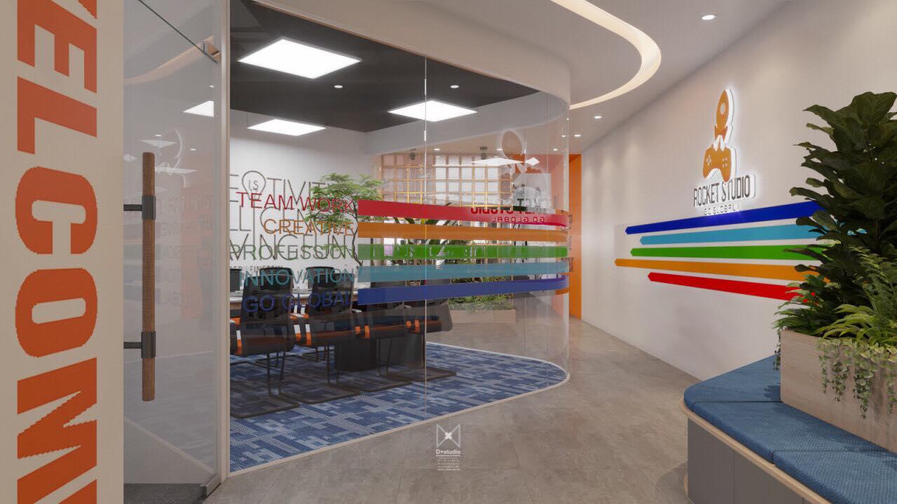 thiết kế văn phòng cty onesoft